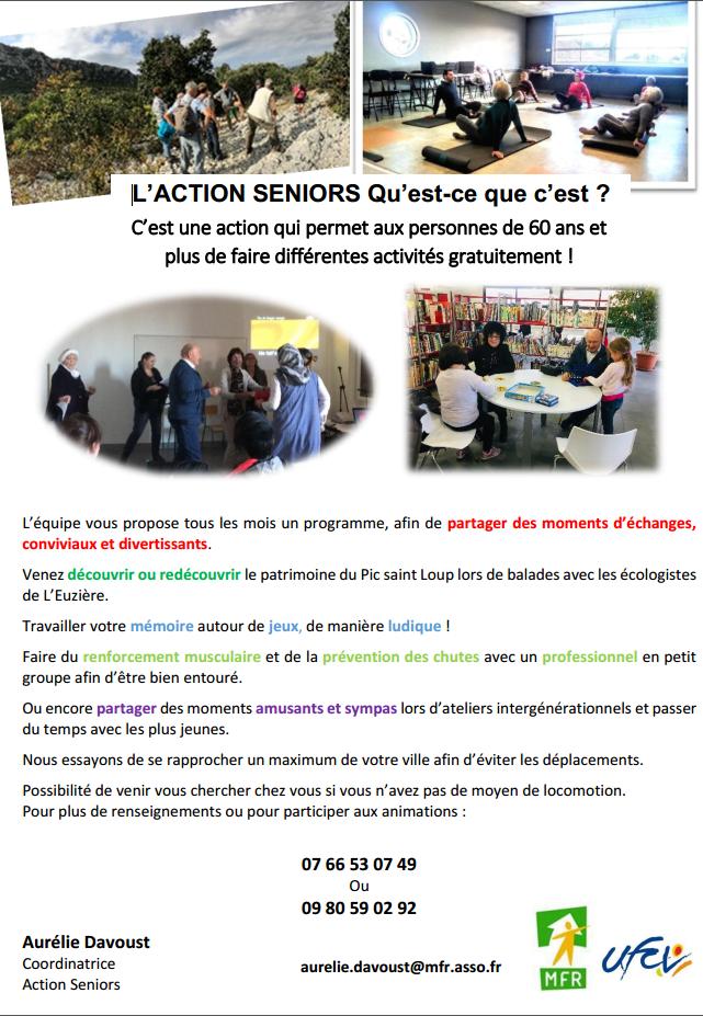 MFR - L'Action seniors c'est quoi
