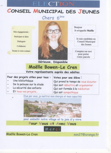 Maelle BOWEN-LE CREN