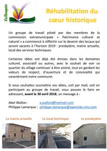 flyer rehab coeur village