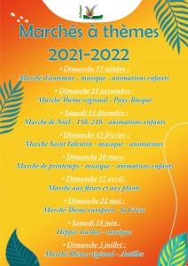 liste Marché spéciaux 2021-2022